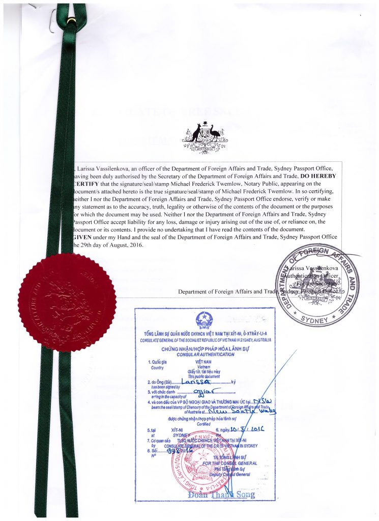 CERTIFICATE OF FREE SALE 001
