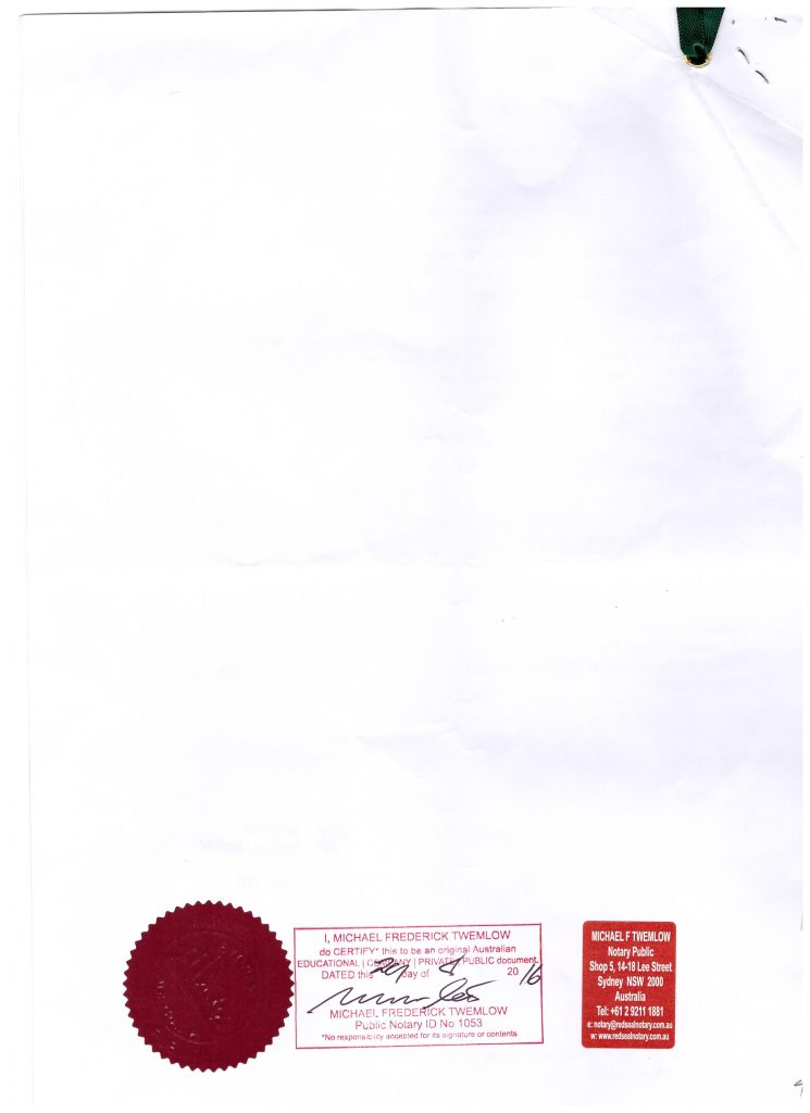 CERTIFICATE OF FREE SALE 004