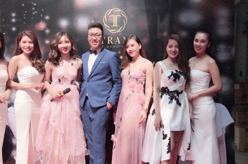 Anh Nguyễn Tuấn Anh trong ngày khai trương showroom Trâm Beauty 51 Hàng Cháo