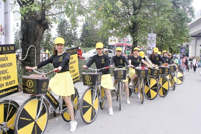 24/11 vừa qua, Trâm Beauty đã tổ chức sự kiện Roadshow xe đạp