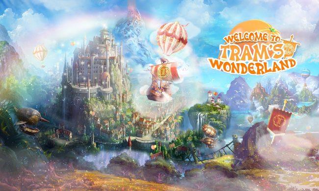 Khám phá những điểm có 1-0-2 xuất hiện tại thế giới cổ tích Tram's Wonderland